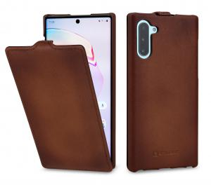 Etui do na Samsung Note 10 - UltraSlim, brąz Antik - B07WGV3XLQ