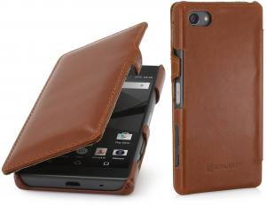 Etui  Sony Xperia Z5 Compact - Ultra Book, brown - B0156MMZSG