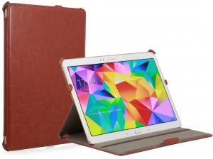 Etui  Samsung Galaxy Tab S 10.5 - UltraSlim, brown glatt - B00LLBAAAW