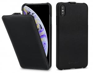 Etui do na Apple iPhone Xs Max - UltraSlim, czarny nappa - B07HF6QBRH