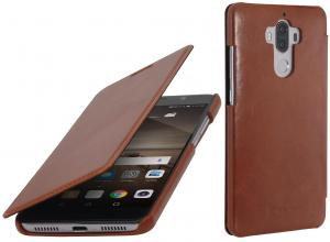 Etui  Huawei Mate 9 - Book, brown - X000M6MHR9