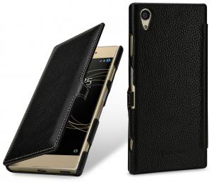 Etui do na Sony Xperia XA1 Plus - UltraSlim Book, czarny - B076BP6446