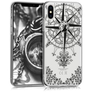 Etui do na Apple iPhone X Crystal TPU Kompas - 4057665271845