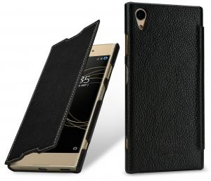 Etui do na Sony Xperia XA1 Plus - Book, czarny - B076BNPFPY