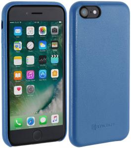 Etui do na Apple iPhone 7 - Cover Premium, aquablu nappa - B01LWUDLW5