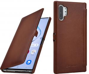 Etui do na Samsung Note 10+ - UltraSlim Book, czarny - B07WFV5GP8