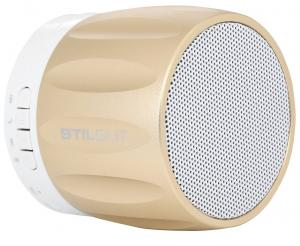 Głośnik Bluetooth, gold - B0166OZLWA