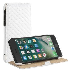 "Etui do na Apple iPhone 7 / 8 Plus (5.5"") - Book Stand, chester biały - B01M0UOUOF"