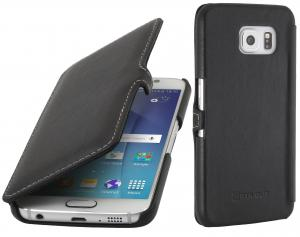 Etui do na Samsung Galaxy S6 - UltraSlim Book, czarny - B00UBXM2WU