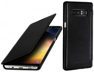 Etui do na Samsung Galaxy Note 8 - Book, czarny nappa - B075JJ3WJ9
