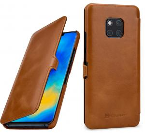 Etui do na Huawei Mate 20 Pro  - UltraSlim Book, brąz - B07K128C97