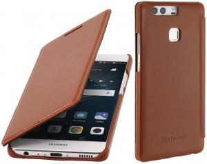 Etui  Huawei P9 - Book, brown - B01DZN58ZA