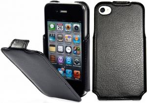 Etui  Apple iPhone 4 / 4S - SlimCase, black - X0002QJ619