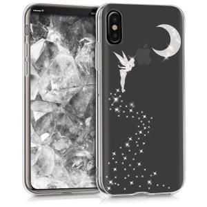 Etui do na Apple iPhone X Crystal TPU wróżka biała - 4057665271548