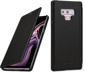 Etui do na Samsung Galaxy Note 9 - Book, czarny nappa - B07GJTNK7W