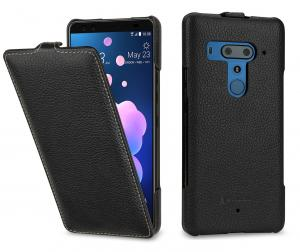 Etui do na HTC U12+ - UltraSlim, czarny - B07DCN6X82