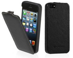 Etui  Apple iPhone 5 / 5S / SE - UltraSlim, black carbo - X0004LKJ5J