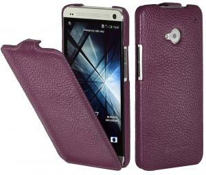 Etui  HTC One M7 - UltraSlim, purple - X0005UX8FR