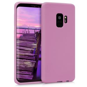 Etui do na Samsung Galaxy S9 - TPU różowy matt - 4057665350700