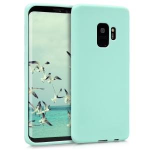 Etui do na Samsung Galaxy S9 - TPU  mientowo zielony matt - 4057665347007