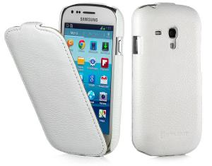 Etui  Samsung Galaxy S3 mini - UltraSlim, white - X0005E3JIT