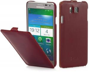 Etui do na Samsung Galaxy Alpha - UltraSlim, bordowy - B00O7O9D3U
