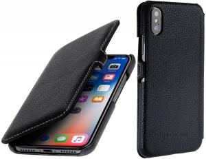 Etui do na Apple iPhone X / Xs - UltraSlim Book, czarny - B075JJ5RXM