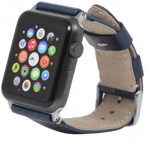 Pasek Apple Watch 42 mm, niebieski - B0183W1PFK
