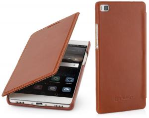 Etui  Huawei P8 - Book, brown - B00Z6CMTDI