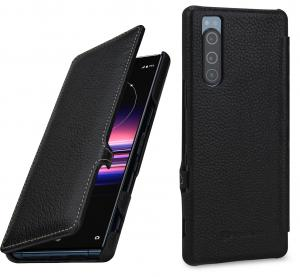 Etui do Sony Xperia 5 - UltraSlim Book, czarny - 4251706201864