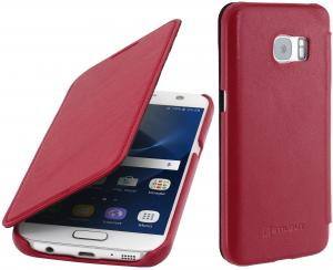 Etui  Samsung S7 - Book, red nappa - B01FUAH7RS