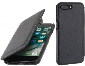 "Etui do na Apple iPhone 7/8 Plus (5.5"") - UltraSlim Book, czarny - B075KHZPB2"