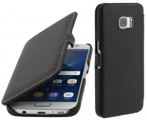 Etui  Samsung Galaxy S7 - UltraSlim Book, black - B01CNVF24W