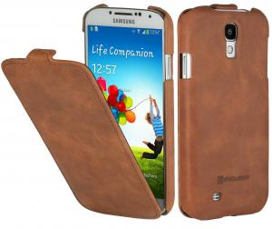 Etui  Samsung Galaxy S4 i9500 - UltraSlim (VE), brown - X0005PGY5D