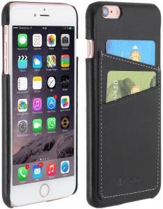 Etui  Apple iPhone 6s Plus - Cover, black nappa - B01EYQ5QJ0