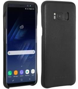 Etui do na Samsung S8 Plus - Cover, czarny nappa - B07147CYLJ