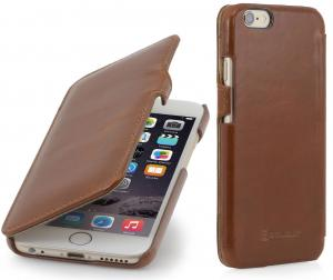 "Etui  Apple iPhone 6 Plus / 6S Plus 5.5"" - UltraSlim Book, brown - B00O7RSEEG"